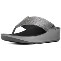 Zapatos Mujer Chanclas FitFlop CRYSTALL TM - PEWTER CRYSTAL PEWTER CRYSTAL