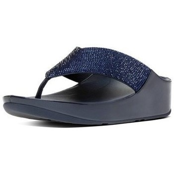 Zapatos Mujer Chanclas FitFlop CRYSTALL TM - SUPERNAVY CRYSTAL SUPERNAVY CRYSTAL