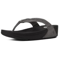 Zapatos Mujer Chanclas FitFlop CRYSTAL SWIRL TM - PEWTER PEWTER