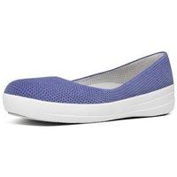 Zapatos Mujer Bailarinas-manoletinas FitFlop ADORABALLERINA (PERF) - LAVENDER BLUE LAVENDER BLUE