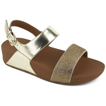 Zapatos Mujer Sandalias FitFlop CRYSTALL TM II BACK-STRAP SANDALS - GOLD GOLD