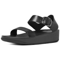 Zapatos Mujer Sandalias FitFlop BON TM SANDAL - ALL BLACK LEATHER ALL BLACK LEATHER