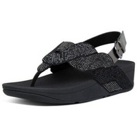 Zapatos Mujer Sandalias FitFlop PAISLEY ROPE BACK STRAP SANDALS - ALL BLACK ALL BLACK