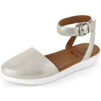 Zapatos Mujer Sandalias FitFlop COVA TM CLOSED TOE SANDALS METALLIC - SILVER SILVER