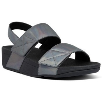 Zapatos Mujer Sandalias FitFlop MINA IRIDESCENT BACK STRAP SANDALS - ALL BLACK ALL BLACK