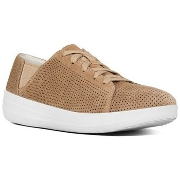 Zapatos Mujer Zapatillas bajas FitFlop F-SPORTY TM LACE UP SNEAKER (PERF) - SOFT BROWN SOFT BROWN