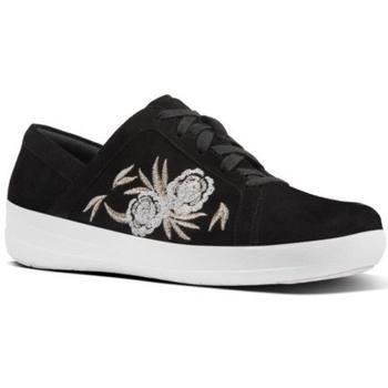Zapatos Mujer Zapatillas bajas FitFlop F SPORTY II BAROQUE - BLACK BLACK