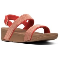 Zapatos Mujer Sandalias FitFlop LOTTIE SHIMMERMESH SLIDE - PASSION RED PASSION RED