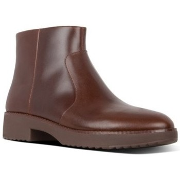 Zapatos Mujer Botines FitFlop MARI ANKLE BOOTS - CHOCOLATE BROWN CO CHOCOLATE BROWN CO