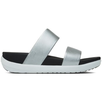 Zapatos Mujer Zuecos (Mules) FitFlop Loosh TM Slide - Silver Silver