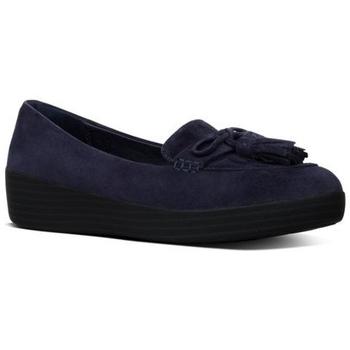 Zapatos Mujer Mocasín FitFlop TASSEL BOW TM SNEAKERLOAFER - MIDNIGHT NAVY MIDNIGHT NAVY