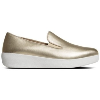 Zapatos Mujer Mocasín FitFlop SUPERSKATE TM - GOLD IRIDESCENT GOLD IRIDESCENT