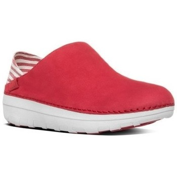 Zapatos Mujer Mocasín FitFlop SUPERLOAFER TM (CANVAS) - CLASSIC RED CLASSIC RED