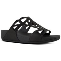 Zapatos Mujer Zuecos (Mules) FitFlop BUMBLE CRYSTAL SLIDE - BLACK es BLACK es