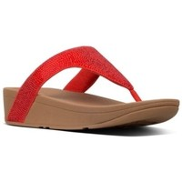 Zapatos Mujer Sandalias FitFlop LOTTIE SHIMMERCRYSTAL - PASSION RED PASSION RED