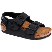 Zapatos Niños Sandalias Birkenstock Milano bf Negro