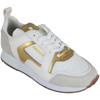 Zapatos Mujer Zapatillas bajas Cruyff lusso white/gold Blanco