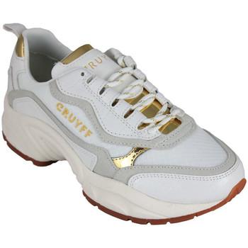 Zapatos Mujer Zapatillas bajas Cruyff ghillie white/gold Blanco