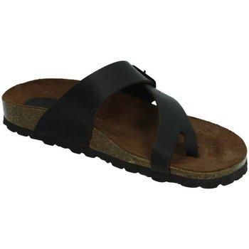 Zapatos Mujer Zuecos (Mules) Interbios Chancla esclava bios Marrón