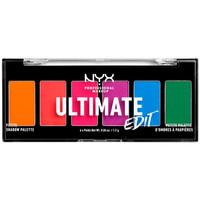 Belleza Mujer Paleta de sombras de ojos Nyx Ultimate Edit Petite Shadow Palette brights 6x1,2 Gr