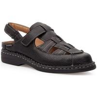 Zapatos Hombre Sandalias Calzamedi S  KOMODON NEGRO