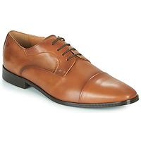 Zapatos Hombre Derbie Carlington NOMINEM Camel