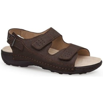 Zapatos Hombre Sandalias Calzamedi S  BECHAMP MARRON