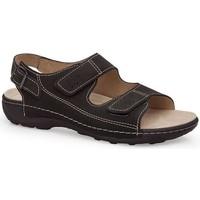 Zapatos Hombre Sandalias Calzamedi S  BECHAMP NEGRO