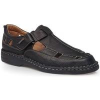 Zapatos Hombre Sandalias Calzamedi S  GIOTTO NEGRO