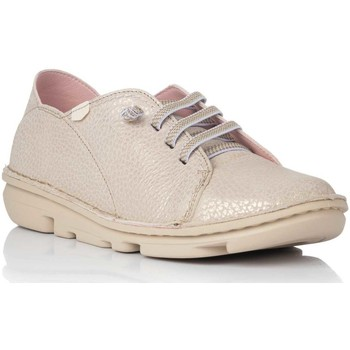 Zapatos Mujer Derbie On Foot 30001 Oro