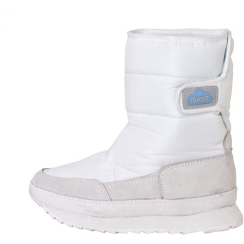 Zapatos Botas de nieve Nuvola. Snow Boot Suela de Goma con grampon White