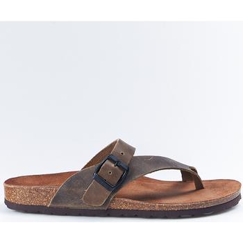 Zapatos Mujer Sandalias Interbios Sandalias  7119 Kaki Verde
