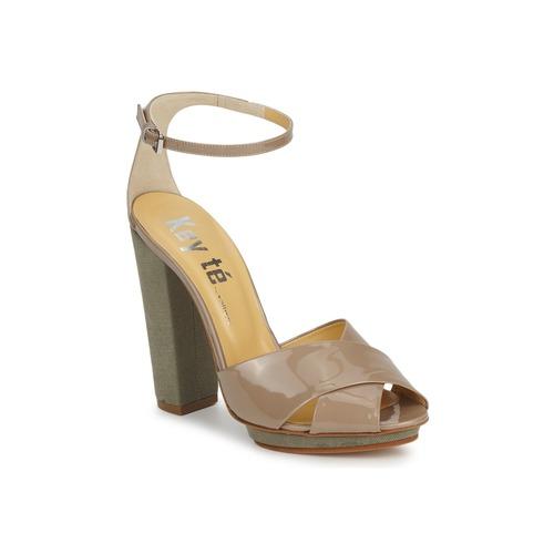 Zapatos Mujer Sandalias Keyté KRISTAL-26722-TAUPE-FLY-3 Topotea