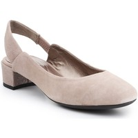 Zapatos Mujer Zapatos de tacón Geox D Carey Beige