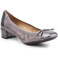 Zapatos Mujer Bailarinas-manoletinas Geox D Carey Plateado, Dorado