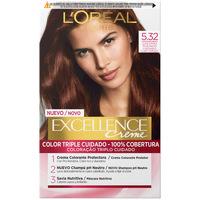 Belleza Mujer Coloración L'oréal Excellence Creme Tinte 5.32-castaño Tostado 1 u