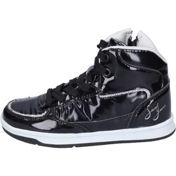 Zapatos Niña Zapatillas altas Sweet Years sneakers cuero sintético negro