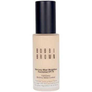 Belleza Mujer Base de maquillaje Bobbi Brown Skin Long-wear Weightless Foundation warm Ivory 30 ml