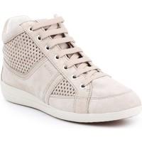 Zapatos Mujer Zapatillas altas Geox D Myria B D7268B-07722-C6738 beige