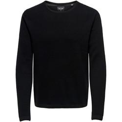 textil Hombre jerséis Only & Sons 22016980 Nero