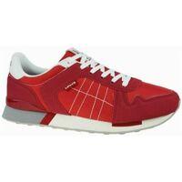 Zapatos Hombre Zapatillas bajas Levi's Strauss ZAPATILLA LEVIS WEBB Rojo