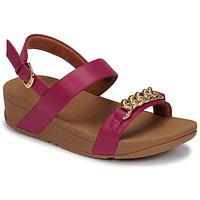 Zapatos Mujer Sandalias FitFlop LOTTIE CHAIN BACK-STRAP SANDALS Fucsia