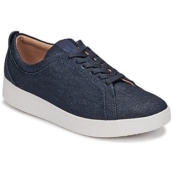 Zapatos Mujer Zapatillas bajas FitFlop RALLY DENIM Azul