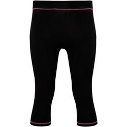 textil Mujer Leggings Tridri Tri Dri Negro/Rosa Brillante