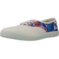 Zapatos Mujer Zapatillas bajas Victoria 106724 Blanco