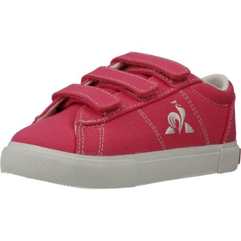 Zapatos Niña Zapatillas bajas Le Coq Sportif VERDON PLUS INF Rosa