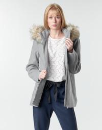 textil Mujer Abrigos Vero Moda VMCOLLARYORK Gris