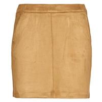 textil Mujer Faldas Vero Moda VMDONNADINA Cognac