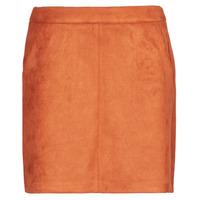 textil Mujer Faldas Vero Moda VMDONNADINA Naranja