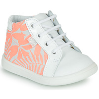 Zapatos Niña Zapatillas altas GBB FAMIA Blanco / Rosa